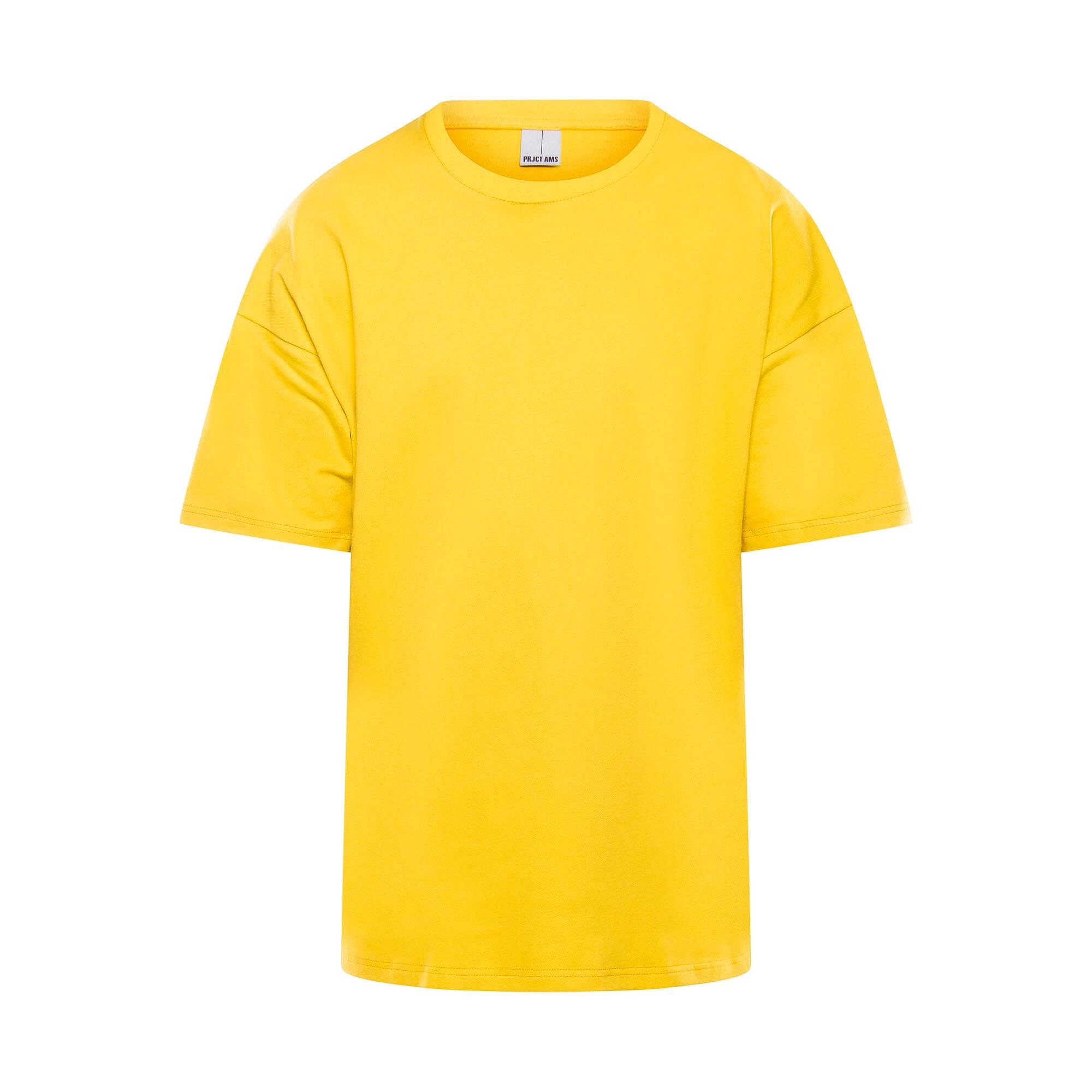 Drop tee geel