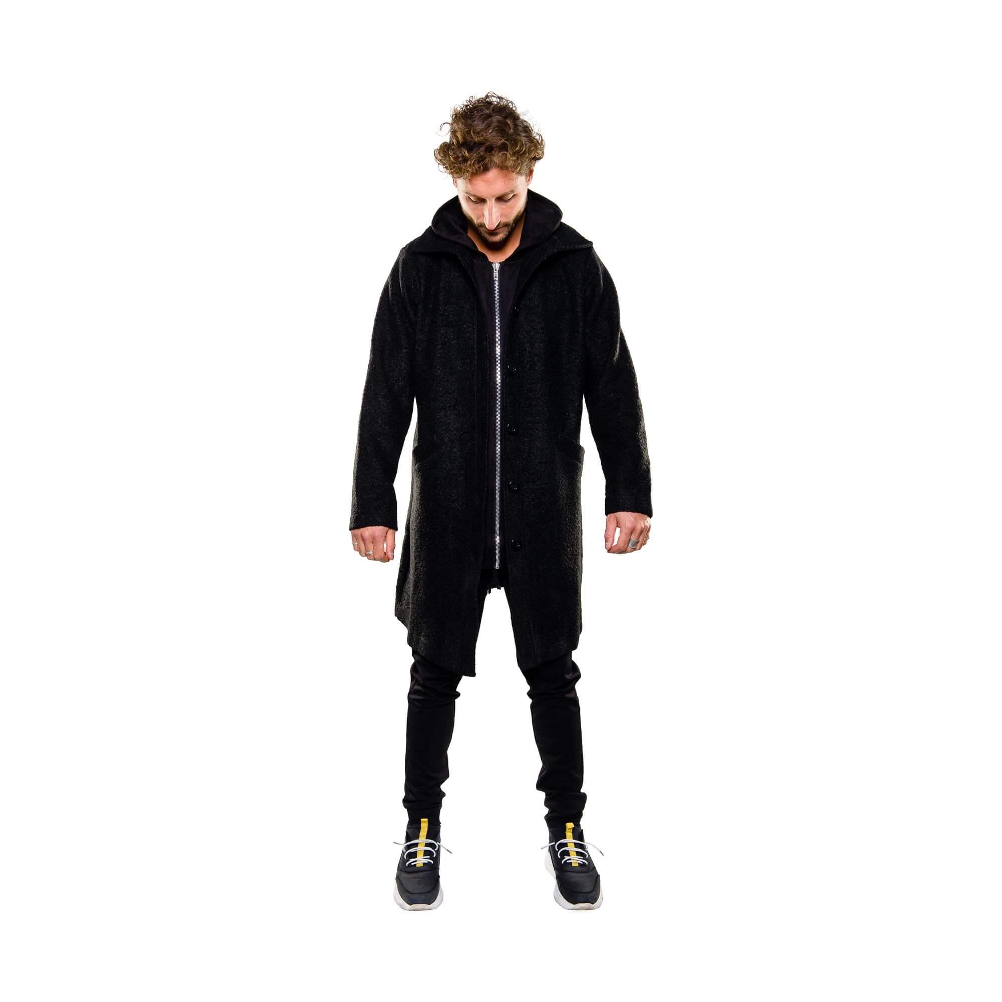 zip hoodie zwart outfit1