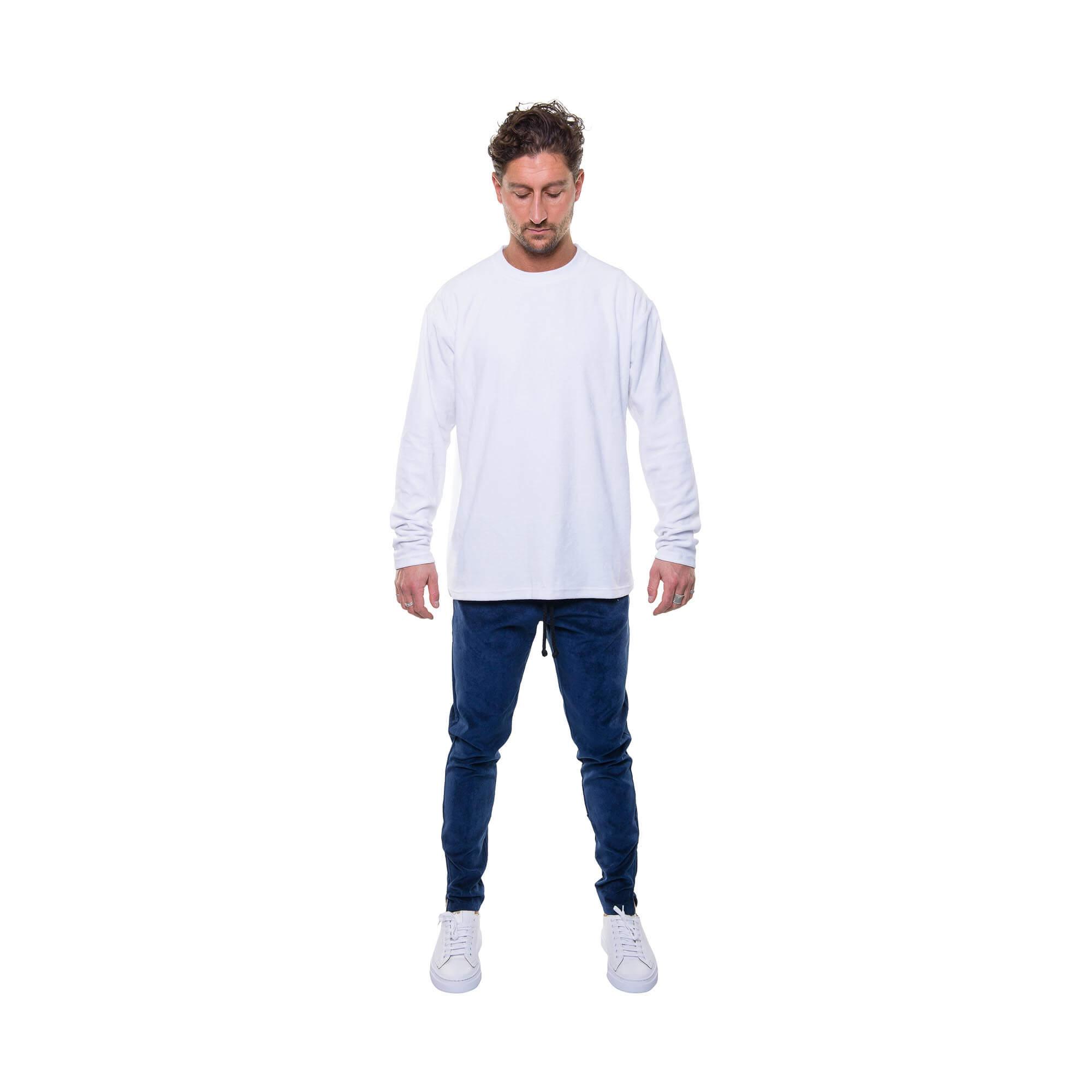 total look rib pants