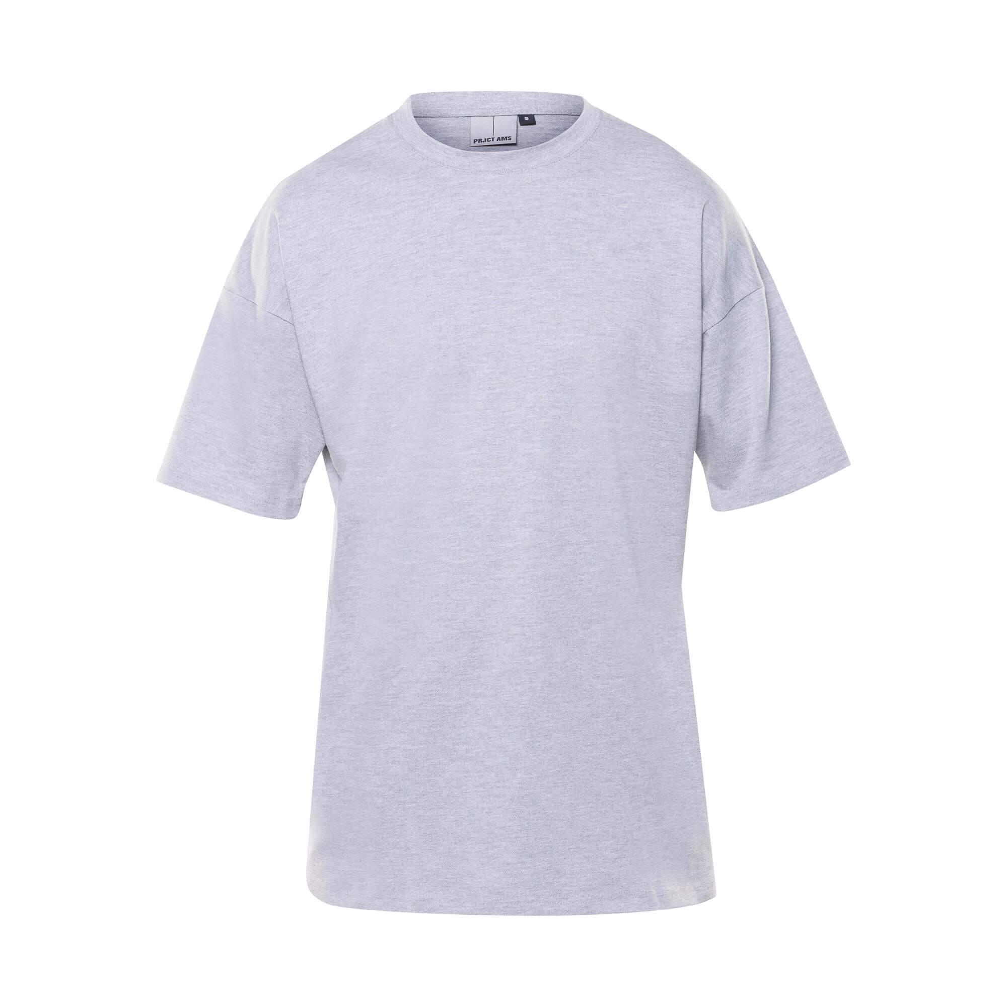 drop tee grey