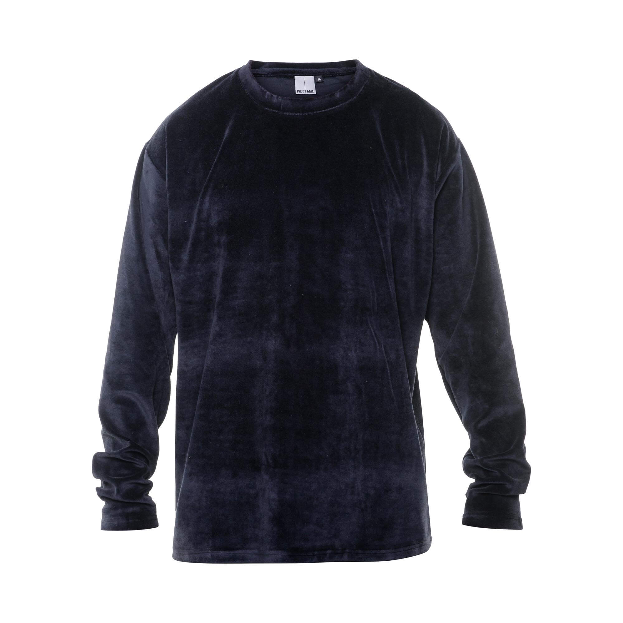 velvet sweater black