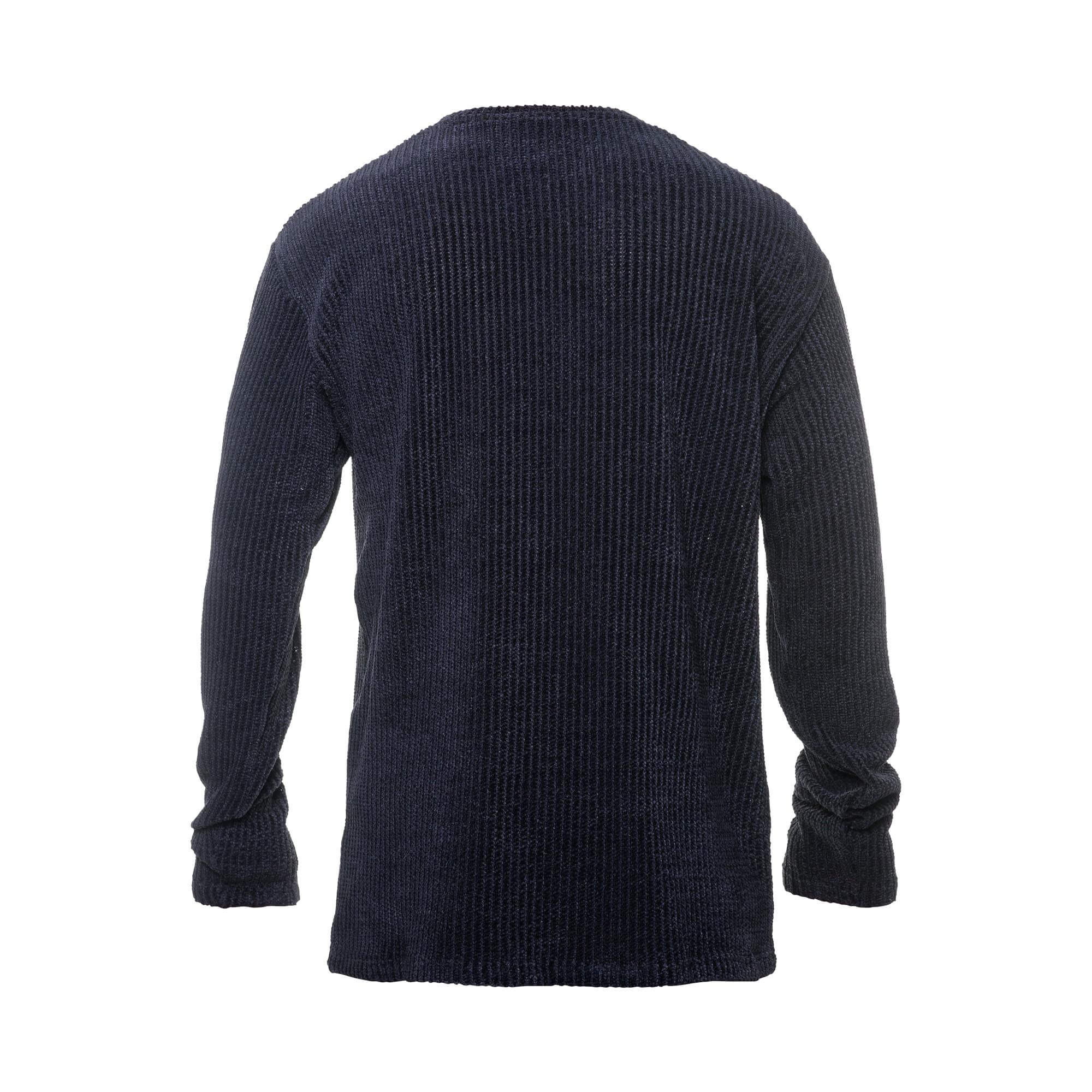 wool black - back
