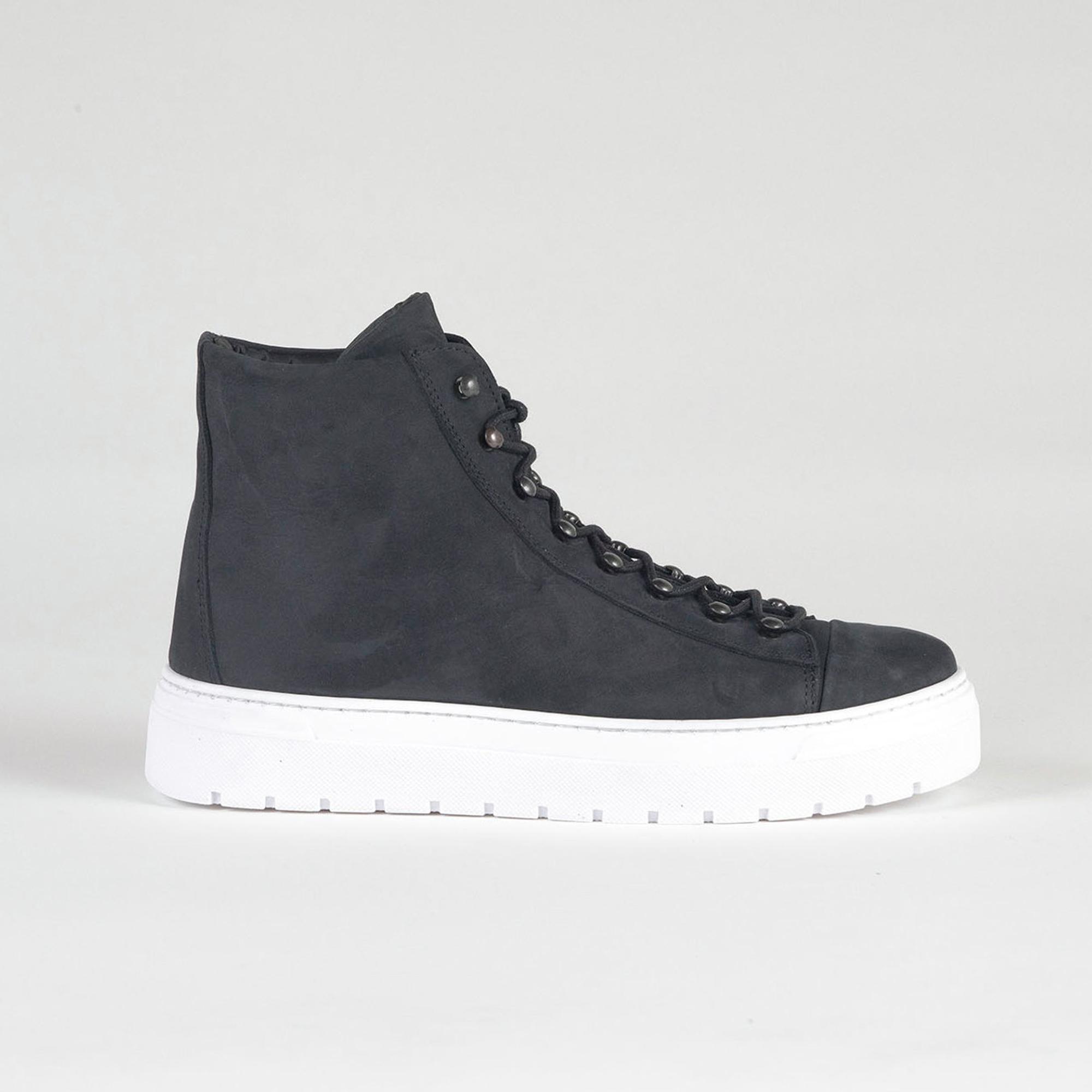 sneakers high black side