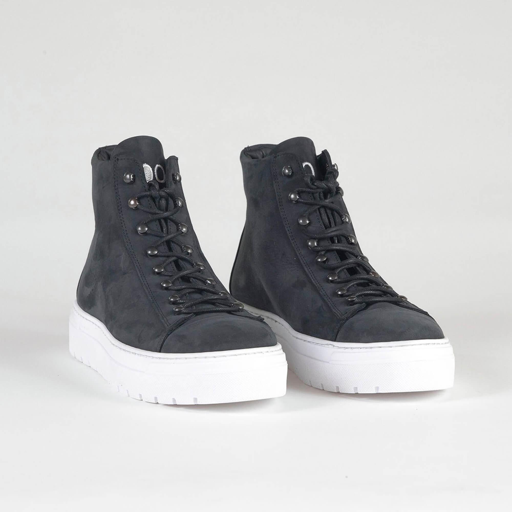 sneakers high black