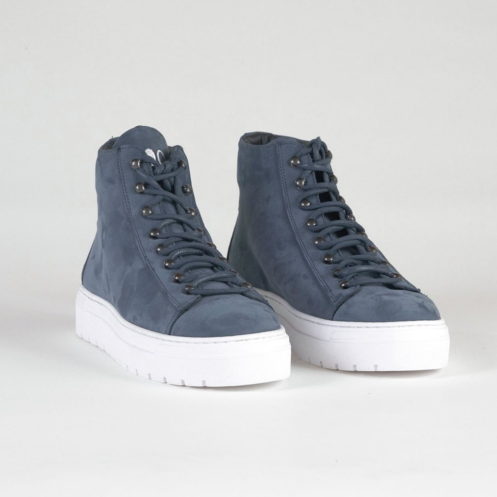 sneakers high blue