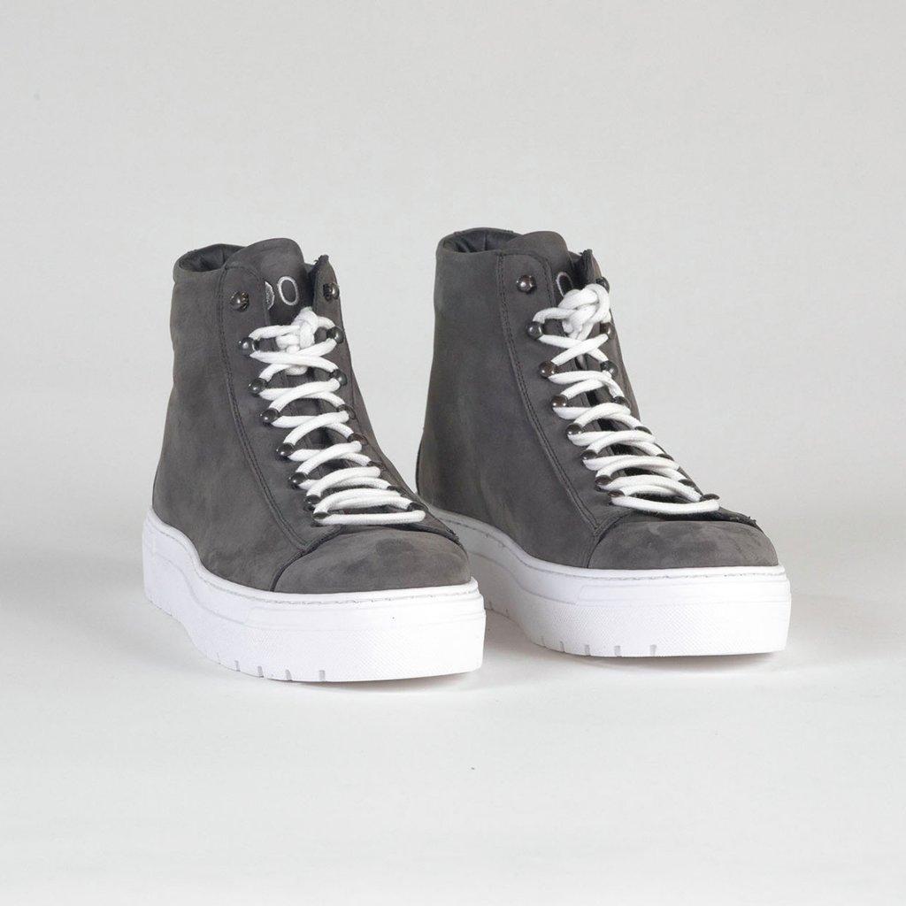 sneakers high grey