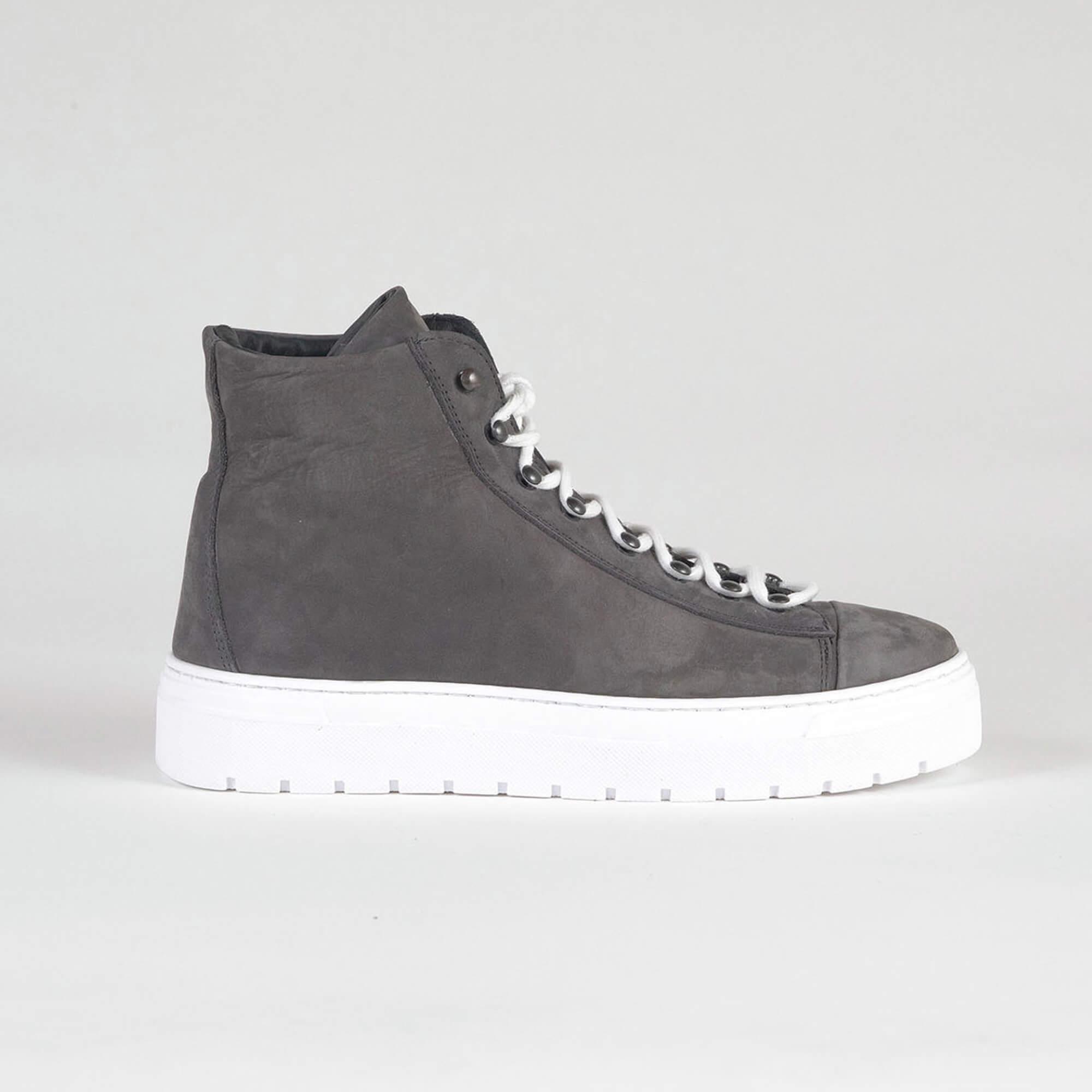 sneakers high grey side
