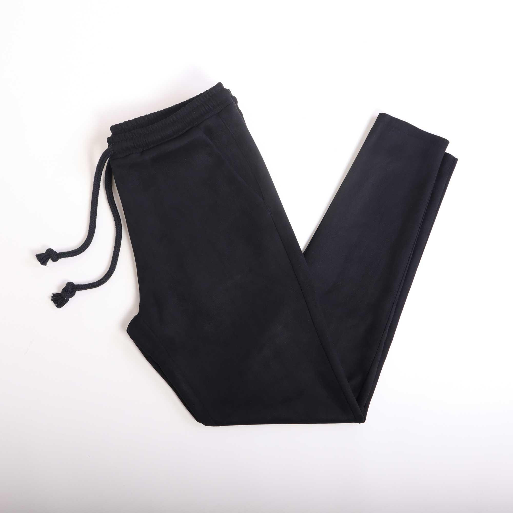 suede-pants-black
